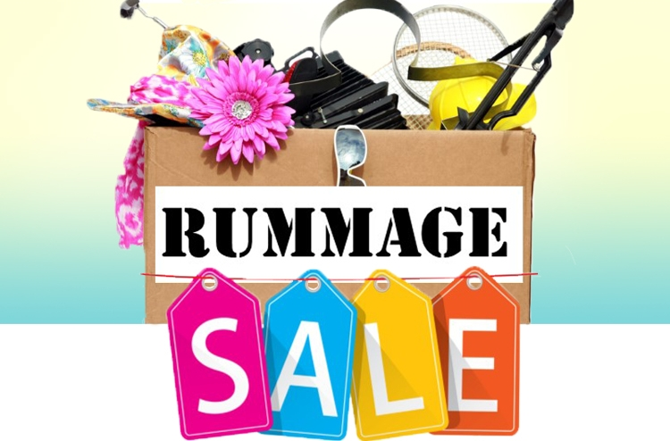 Rummage Sale: April 25th-27th